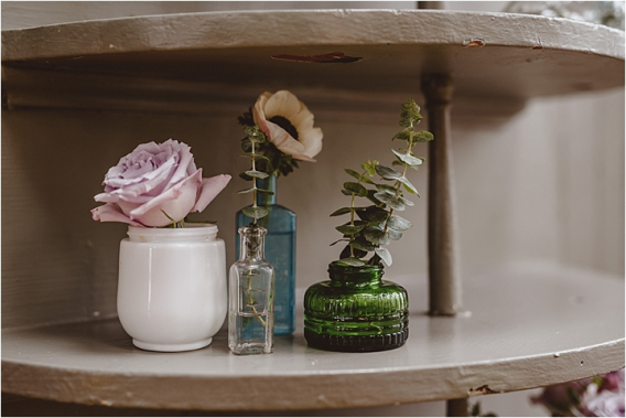 Vintage Heirloom DIY Wedding at the Aviary in Lynchburg Virginia Purple Lavender | Hill City Bride Wedding Blog Details