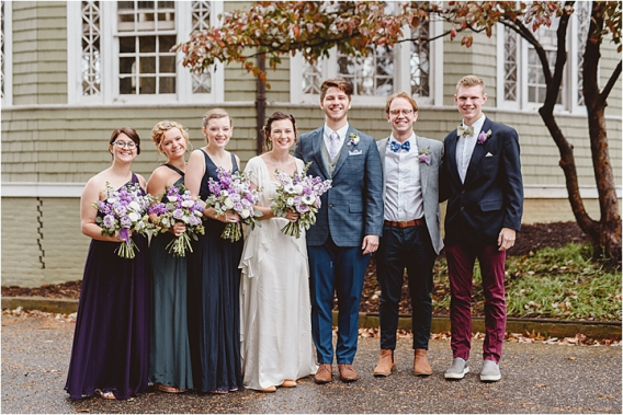 Vintage Heirloom DIY Wedding at the Aviary in Lynchburg Virginia Purple Lavender | Hill City Bride Wedding Blog