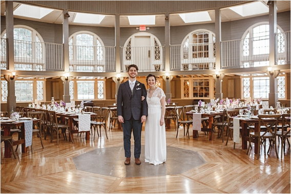 Vintage Heirloom DIY Wedding at the Aviary in Lynchburg Virginia Purple Lavender | Hill City Bride Wedding Blog Reception