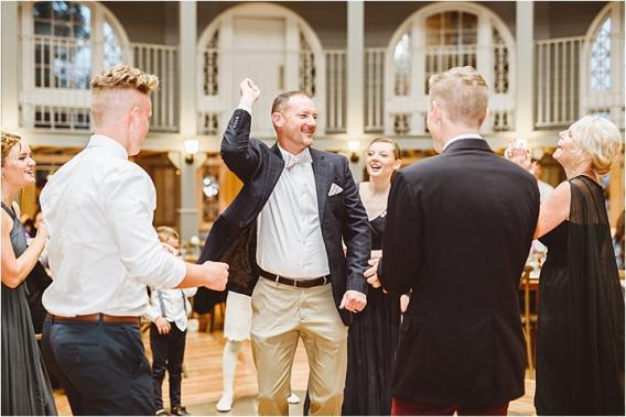 Vintage Heirloom DIY Wedding at the Aviary in Lynchburg Virginia Purple Lavender | Hill City Bride Wedding Blog Dancing
