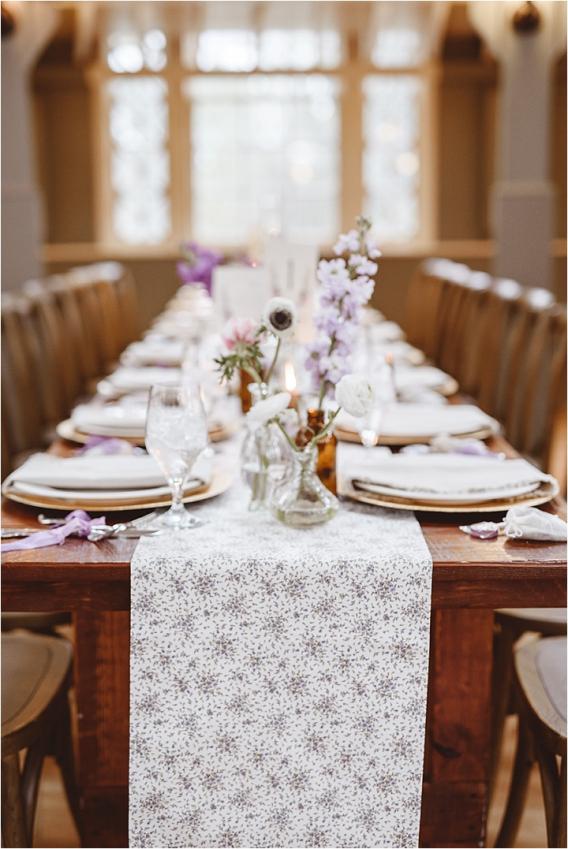 Vintage DIY Heirloom Wedding Purple Lynchburg Virginia Aviary | Hill City Bride Virginia Wedding Blog Destination Weddings Farm Table