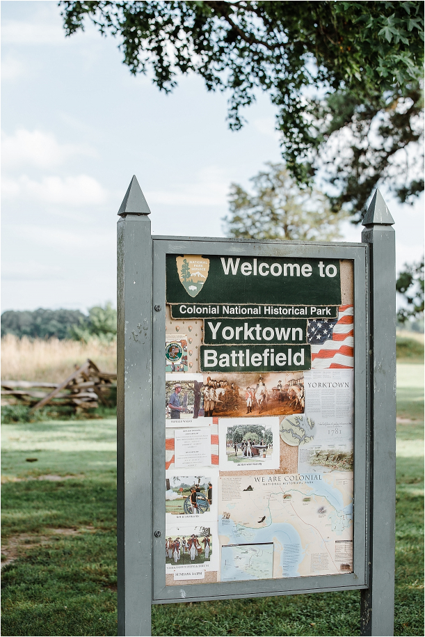 Engagement Session Yorktown Battlefield Virginia | Hill City Bride Wedding Blog