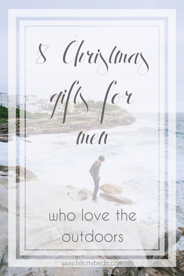 Christmas Gifts for Men who Love the Outdoors | Hill City Bride Virginia Wedding Blog