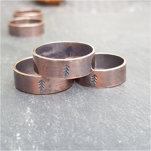 Christmas Gifts for Men who Love the Outdoors | Hill City Bride Virginia Wedding Blog Ring Rings Tree Copper