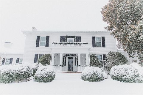 Winter Wonderland Styled Wedding Shoot in the Snow | Hill City Bride Virginia Wedding Blog