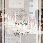 Lynchburg Speakertree Records Vinyl Record Bridal Shower   Hill City Bride Wedding Blog