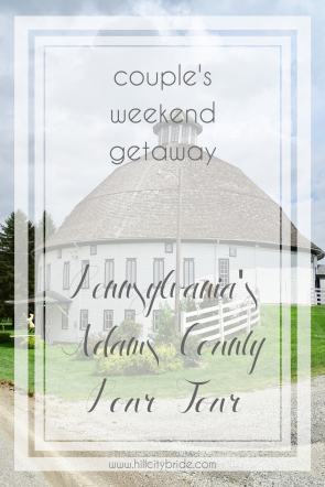 Hill City Bride | Getaway Weekend for Two | Travel for Couples Adam's County Pour Tour Wine Beer Cider Distillery