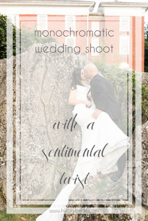 Monochromatic Wedding Shoot in Virginia | Hill City Bride Wedding Blog