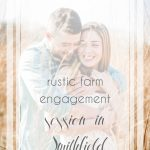 Rustic Farm Engagement Session in Smithfield Virginia | Hill City Bride Wedding Blog