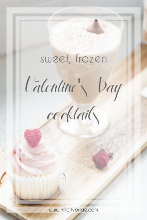Valentines Day Cocktails Frozen Milkshake Sake Coffee | Hill City Bride Virginia Wedding Blog Drink Recipes Valentine's Day Cocktails