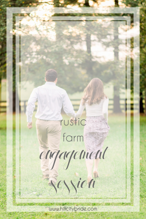 Rustic Farm Engagement Session | Hill City Bride Virginia Wedding Weddings Blog