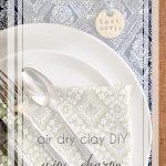Air Dry Clay DIY Wine Charms Oscars Party Golden Globes Reception   Hill City Bride Virginia Wedding Blog Handmade Craft