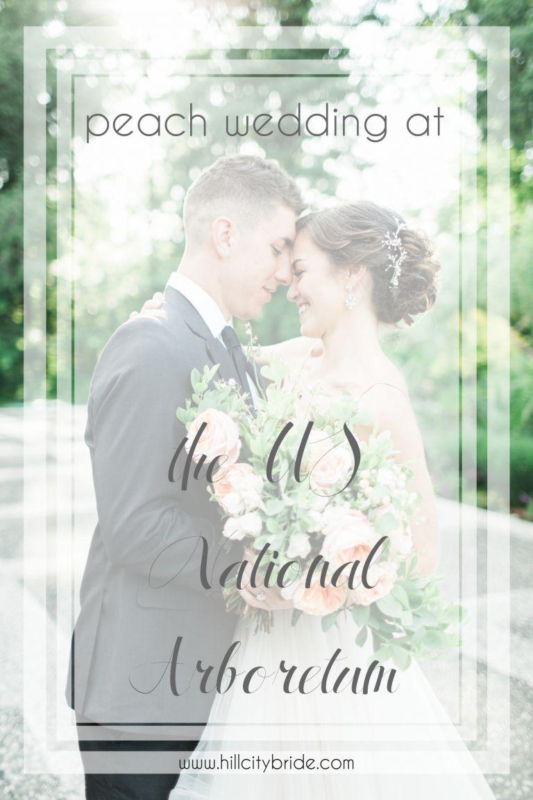 Peach Inspired Wedding Inspiration at the Arboretum | Hill City Bride Virginia Weddings Lynchburg Richmond Roanoke Alexandria