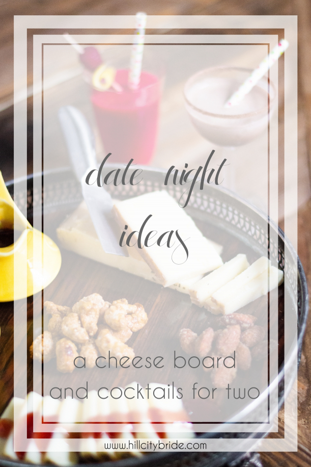 Date Night Ideas Cheese Board Cocktails Recipe Cocktail Drinks | Hill City Bride Virginia Weddings Chocolate Martini Raspberry Lemonade Refresher Spiked Drizzle