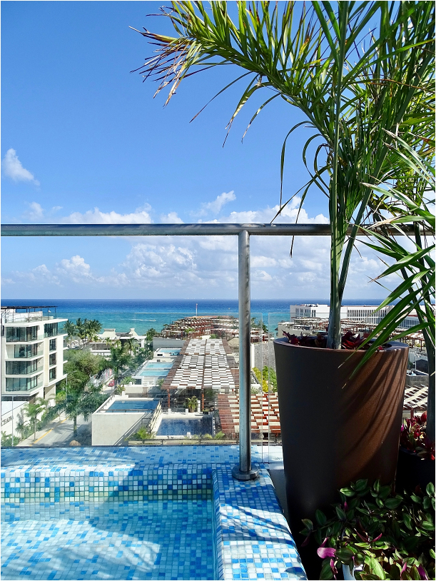 The Reef 28 Playacar Cancun Mexico All Inclusive Resort Adults Only | Hill City Bride Virginia Weddings Destination Wedding Blog Rooftop Pool Bar