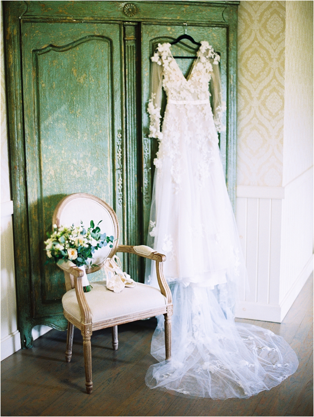 Gorgeous Pippin Hill Wedding in Charlottesville Virginia Gown Dress Flowers Chair
