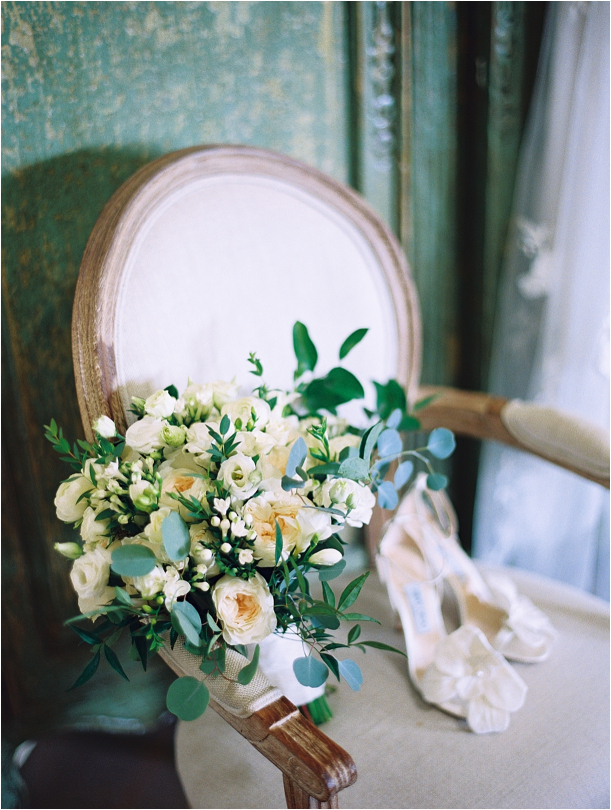 Gorgeous Pippin Hill Wedding in Charlottesville Virginia Flowers Chair Bouquet Bridal