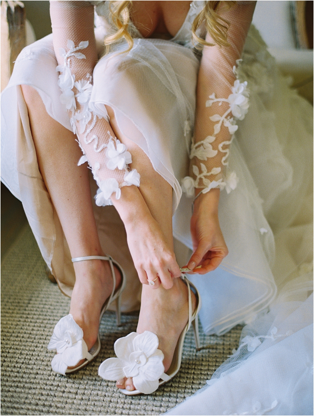 Gorgeous Pippin Hill Wedding in Charlottesville Virginia Shoes Dress Gown