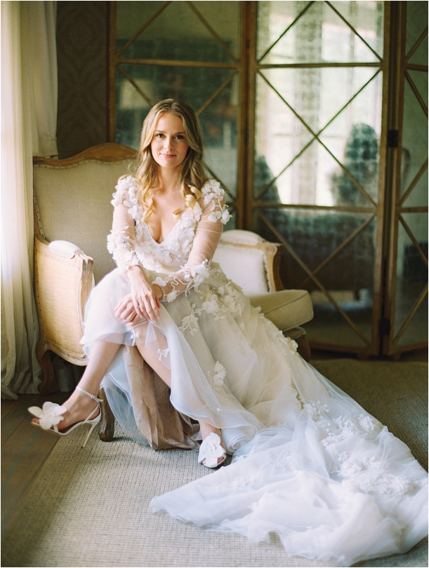 Gorgeous Pippin Hill Wedding in Charlottesville Virginia Dress Gown