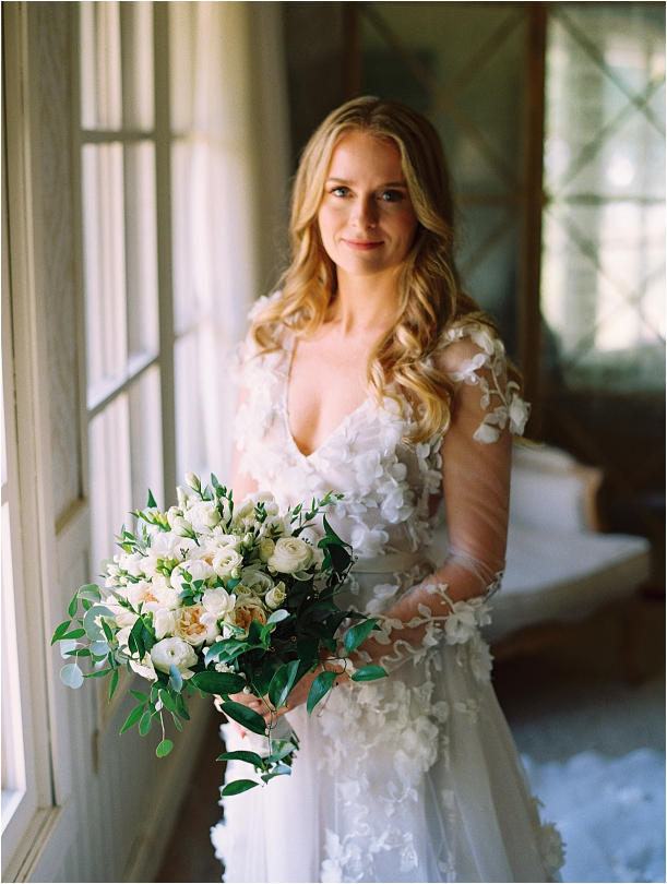 Gorgeous Pippin Hill Wedding in Charlottesville Virginia Dress Gown Flowers