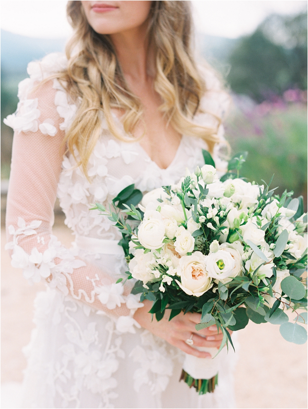 Gorgeous Pippin Hill Wedding in Charlottesville Virginia Gown Dress Appliques