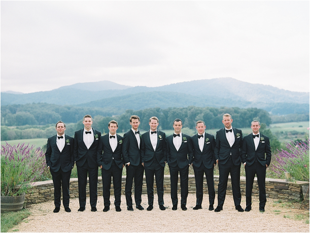 Gorgeous Pippin Hill Wedding in Charlottesville Virginia Groomsmen