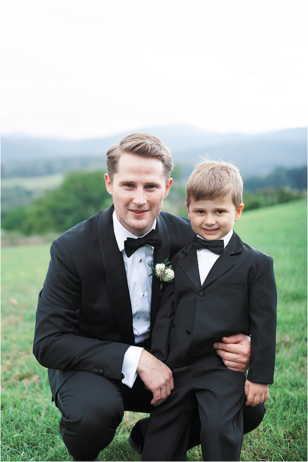 Gorgeous Pippin Hill Wedding in Charlottesville Virginia Ring Bearer