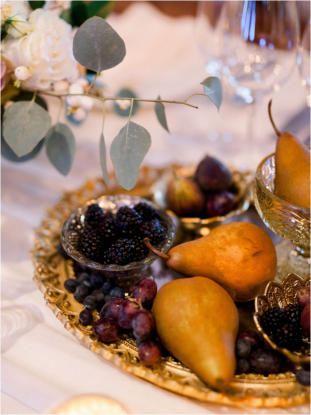 Gorgeous Pippin Hill Wedding in Charlottesville Virginia Mountains   Hill City Bride Virginia Weddings Blog Reception Fruit