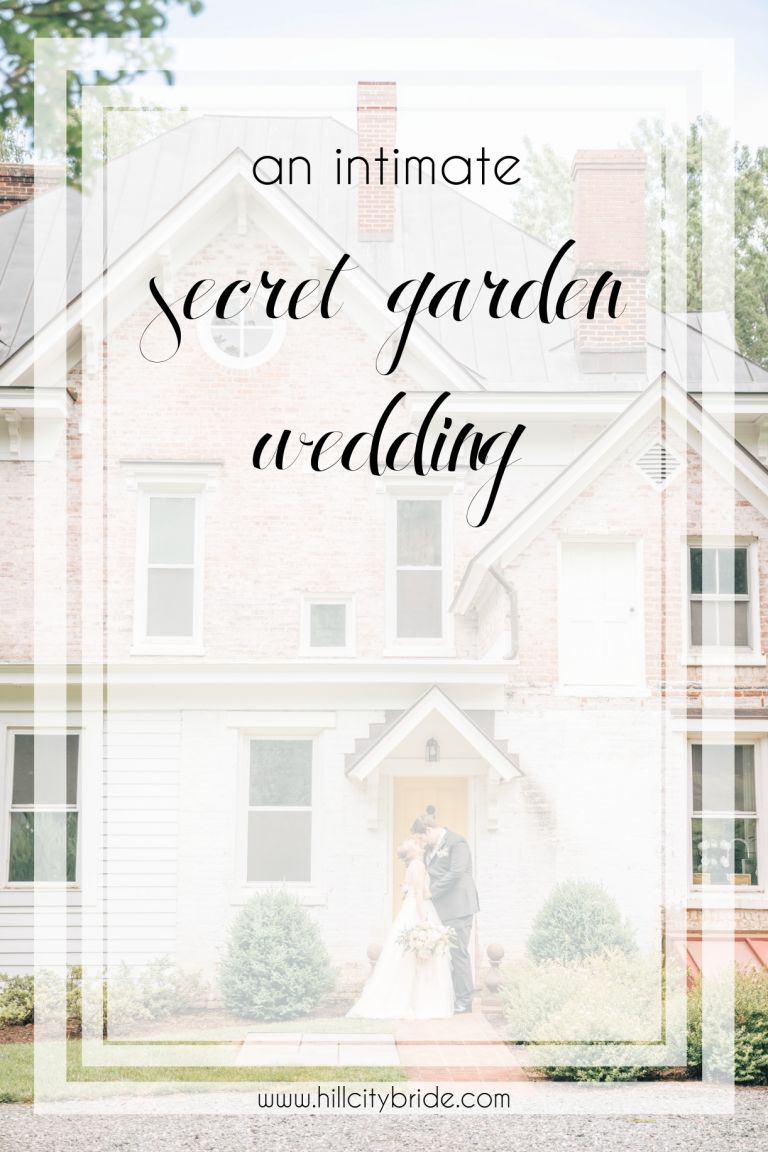 An Intimate Secret Garden Wedding in Virginia | Hill City Bride Virginia Wedding Inspiration Blog
