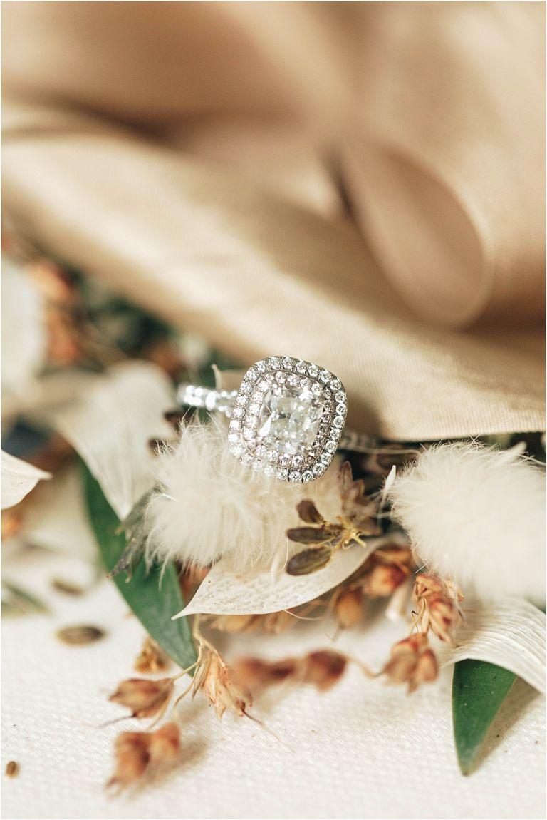 An Intimate Secret Garden Wedding in Virginia | Hill City Bride Virginia Wedding Inspiration Blog Engagement Ring