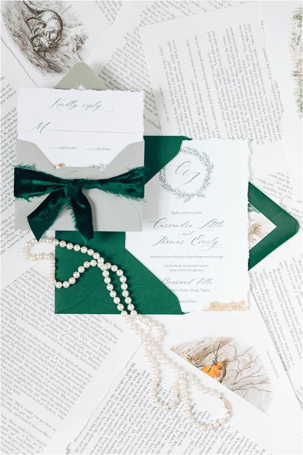 An Intimate Secret Garden Wedding in Virginia | Hill City Bride Virginia Wedding Inspiration Blog Stationery Invitations Invitation