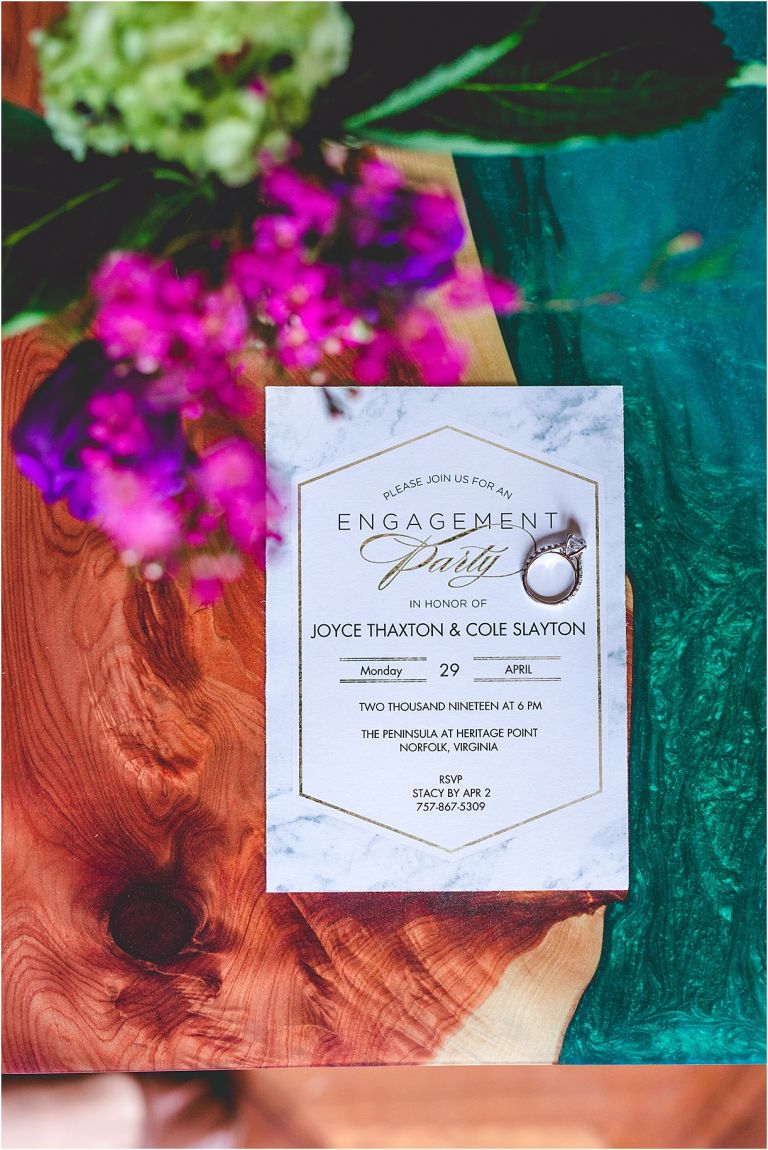 Engagement Party Ideas in Jewel Tones | Hill City Bride Virginia Wedding Blog | Jewel Tone Color Palette Pantone | Jewel Tone Wedding Color Palette | Elegant Engagement Party Ideas