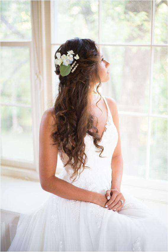 How to Make DIY Hair Clips for Your Wedding   Hill City Bride Virginia Weddings Blog Long Wedding Hair