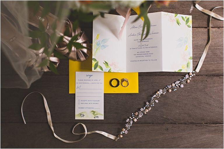 Navy Blue Wedding Color Schemes | Hill City Bride Virginia Blog Invitations Invitation Yellow