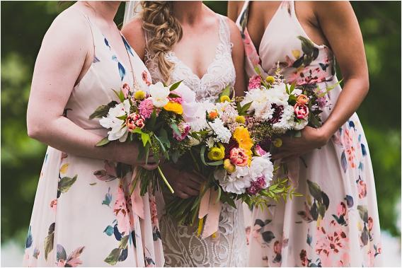 Navy Blue Wedding Color Schemes | Hill City Bride Virginia Blog Flowers Floral Bridesmaid Dresses
