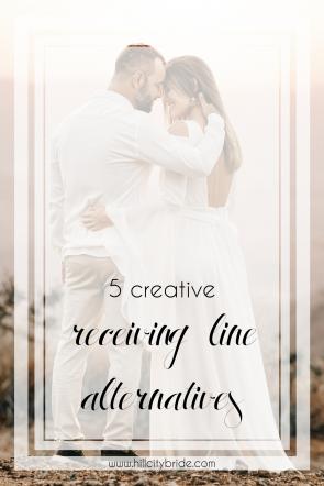 Creative Receiving Line Alternatives for Your Wedding Day   Hill City Bride Weddings Blog