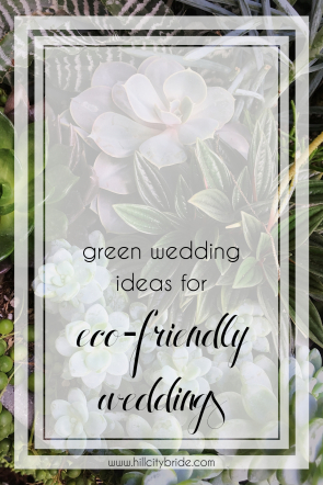 Green Wedding Ideas for Eco-Friendly Weddings | Hill City Bride Virginia Blog Conflict Free Diamonds Lab Grown