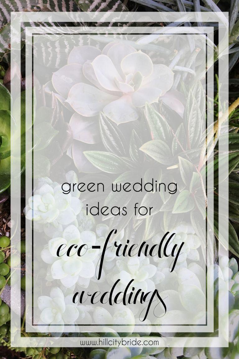 Green Wedding Ideas for Eco-Friendly Weddings | Hill City Bride Virginia Blog Conflict Free Diamonds Lab Grown