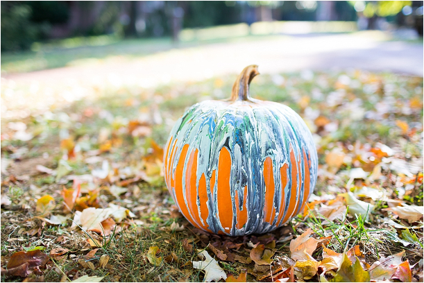 Painted Pumpkin Ideas for Fall Weddings » Hill City Bride
