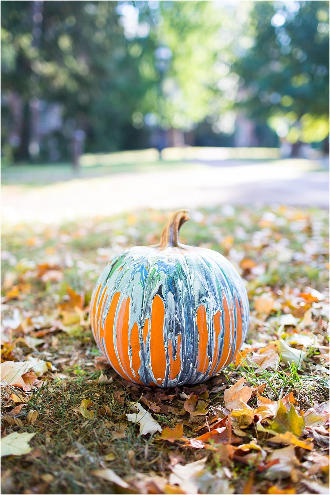 Painted Pumpkin Ideas For Fall Weddings Hill City Bride