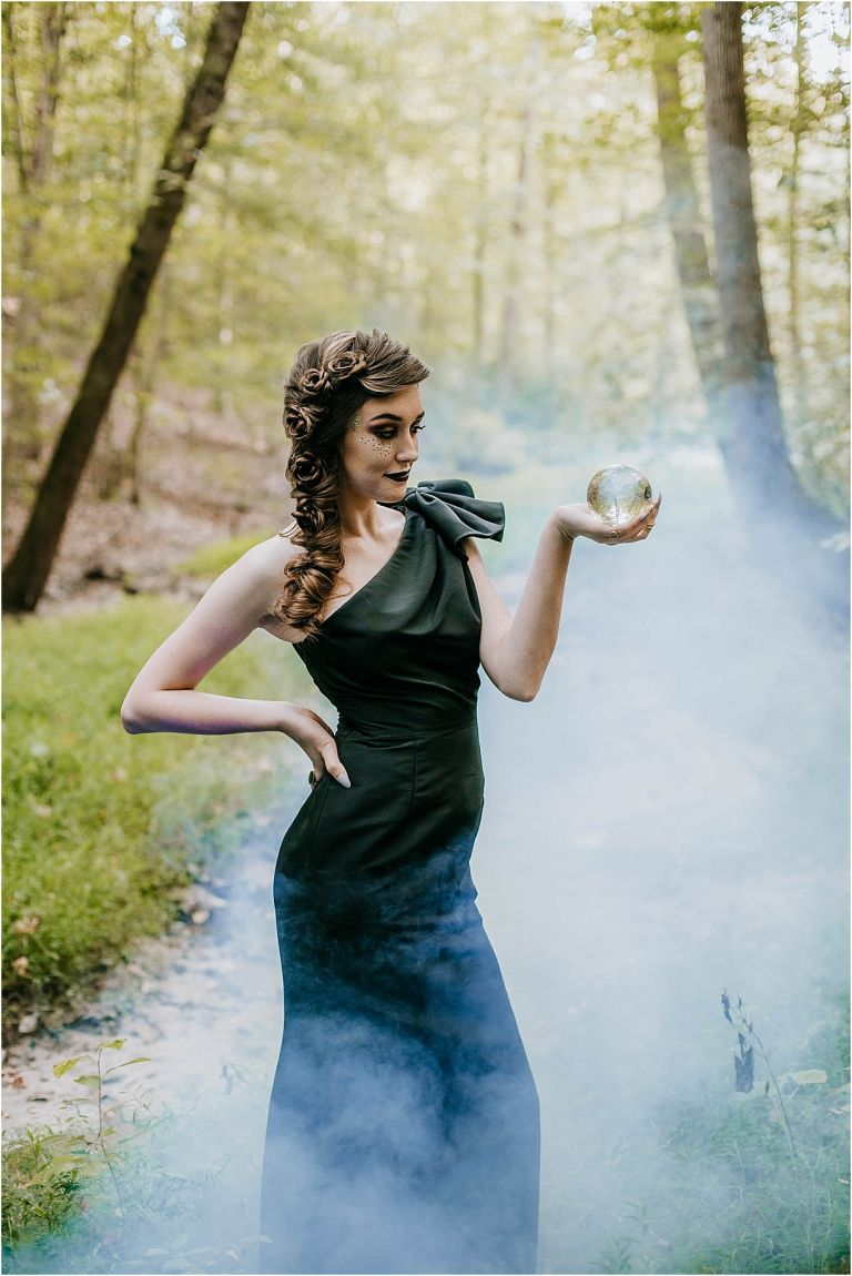 Black Wedding Dresses Elegant Halloween Wedding Ideas | Hill City Bride Virginia Weddings Blog