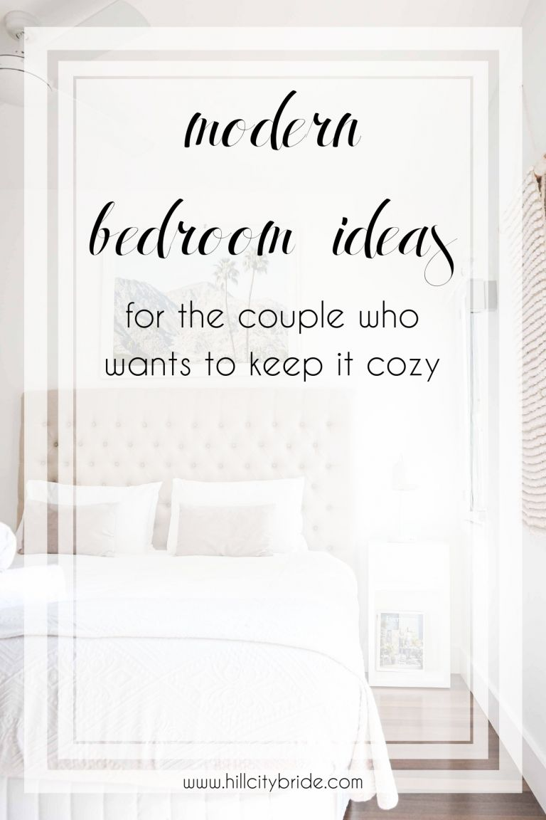 Modern Bedroom Ideas for the Couple Who Wants to Keep it Cozy | Hill City Bride Virginia Weddings Blog Wedding