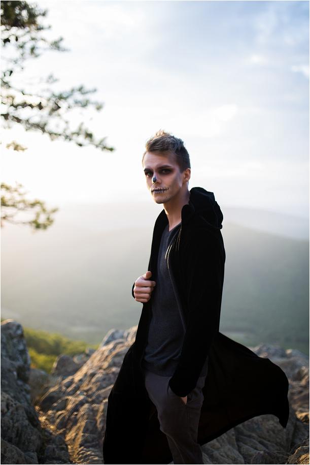 Creepy Halloween Makeup Ideas for Women | Face Makeup for Halloween | Hill City Bride Virginia Weddings Blog