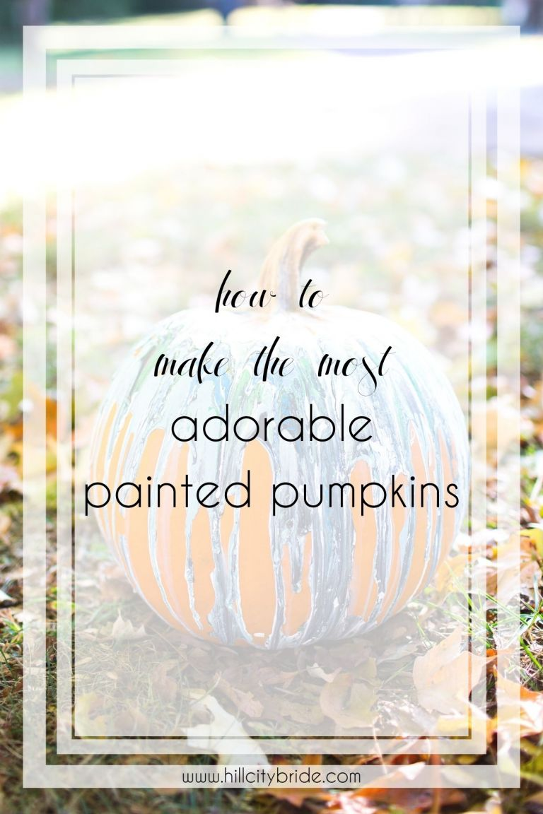 The Most Adorable Painted Pumpkin Ideas to Make | Fall Decor | Pumpkin Decorating Ideas