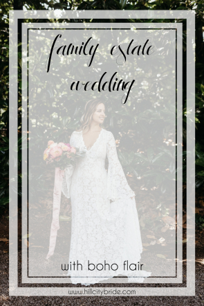Boho Chic Wedding Dresses | Rustic Bohemian Wedding Theme | Hill City Bride Virginia Weddings