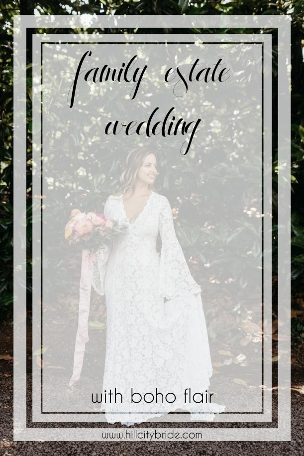 Boho Chic Wedding Dresses | Rustic Bohemian Wedding Theme | Hill City Bride Virginia Weddings