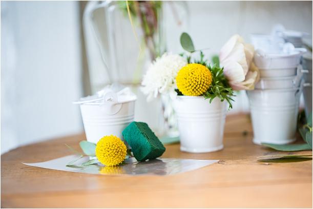 Pop Up Flower Bar   Flower Arranging Party   Hill City Bride Virginia Weddings