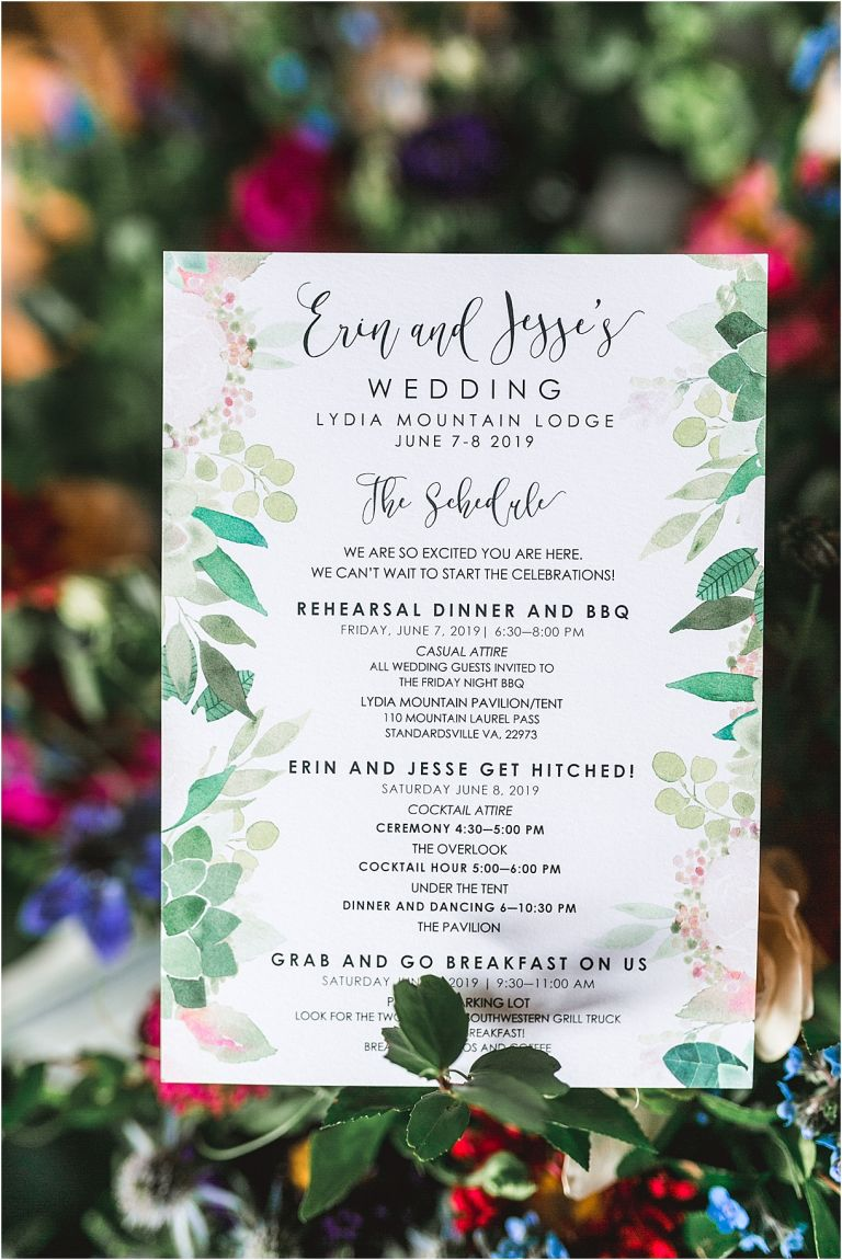 Boho Wedding Ideas | Hill City Bride Virginia Weddings Blog | Bohemian Wedding Invitation