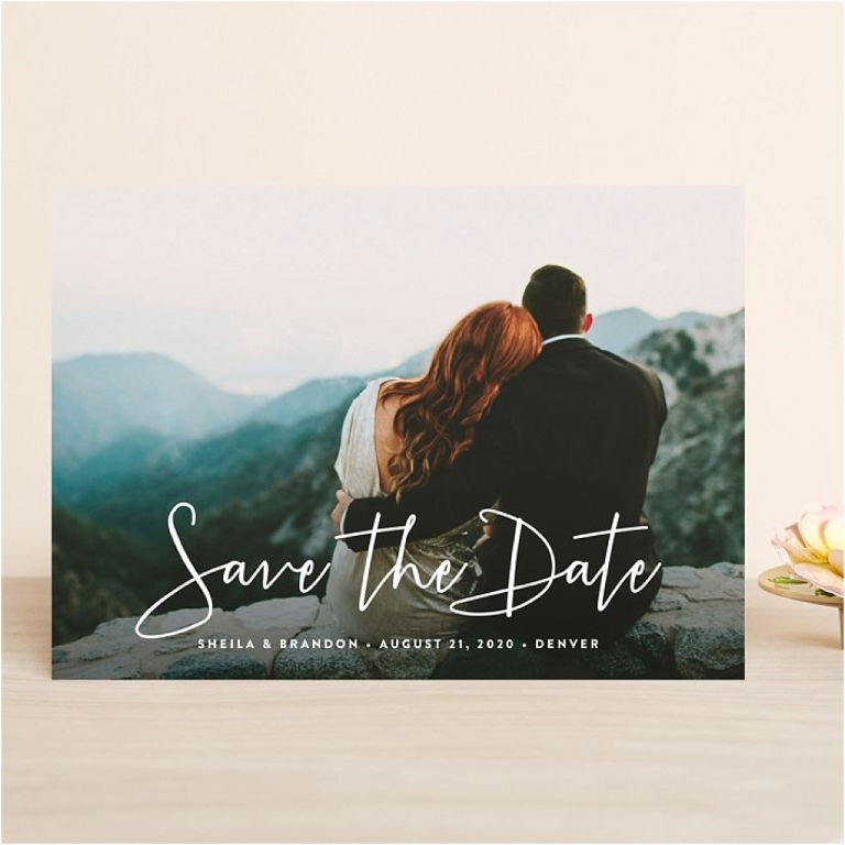 Wedding Save the Dates Ideas from Minted | Hill City Bride Virginia Weddings Blog
