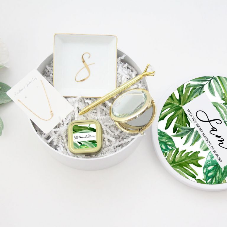 Bridesmaid Proposal Box | Bridesmaid Gifts | Hill City Bride Virginia Weddings